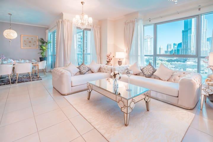 Elite Royal Suit   4BR & full Burj Khalifa view