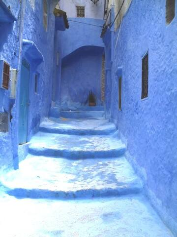 APARTMENT IN THE MEDINA HEART - Chefchaouen - Huoneisto