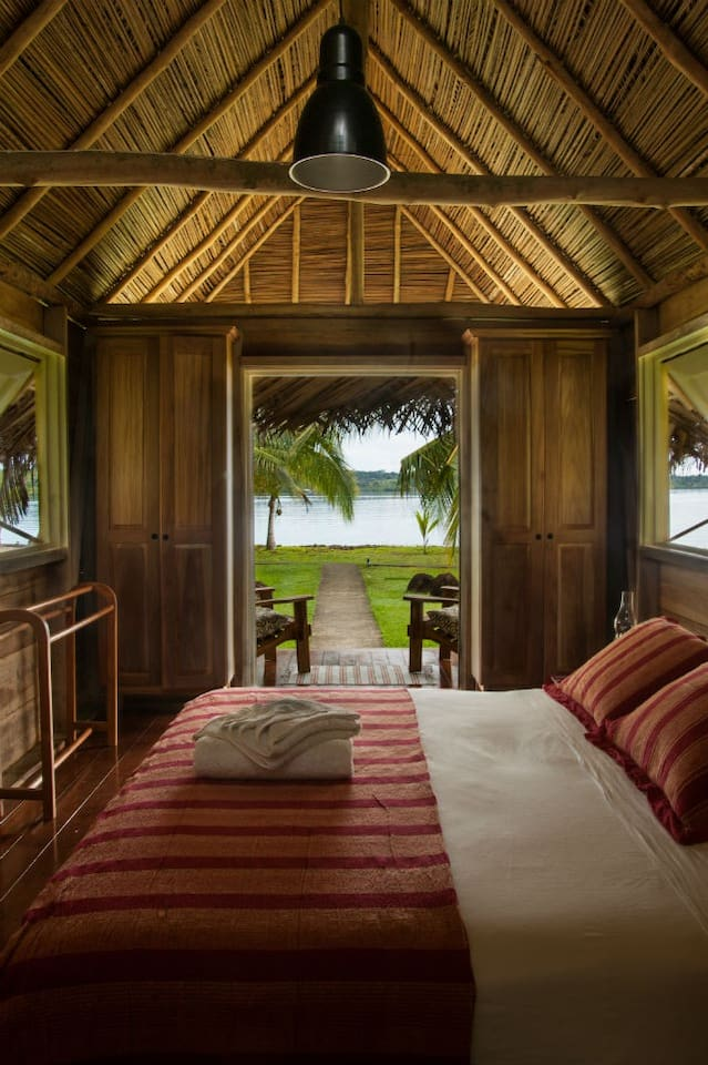 Your Tropical Paradise Cabana with Gorgeous Views.