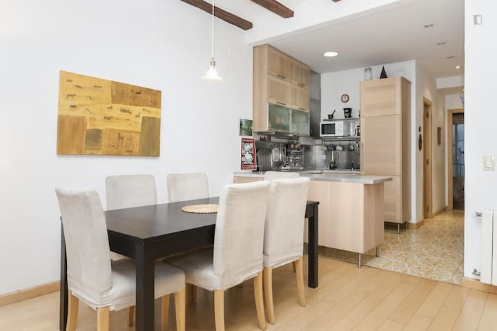 Comfortable and nice, El Born, Long Term Renting