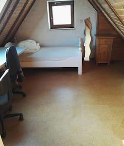 Viel Platz in guter Lage, Zimmer 1 - 班貝格(Bamberg) - 獨棟