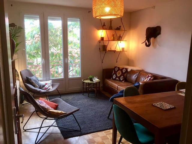 Rennes centre/Mabilay Appartement familial