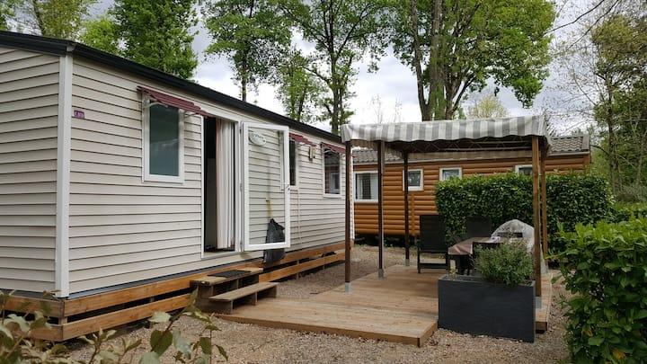 Mobilhome Montal 3 Chambres à 80m de la Dordogne