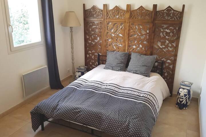 Chambre 1 - lit double (literie neuve)