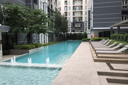1 Bed room Condo,Pool view, Near DMK airport