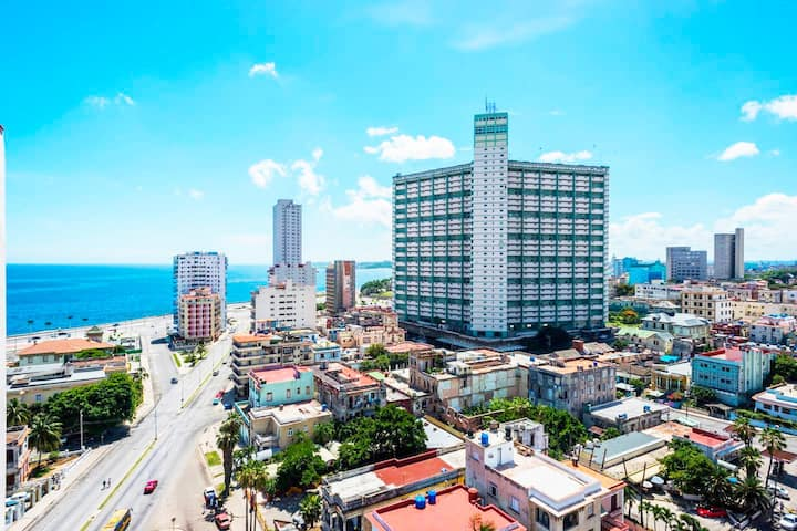 *Vedado Panoramic entire Apartment*