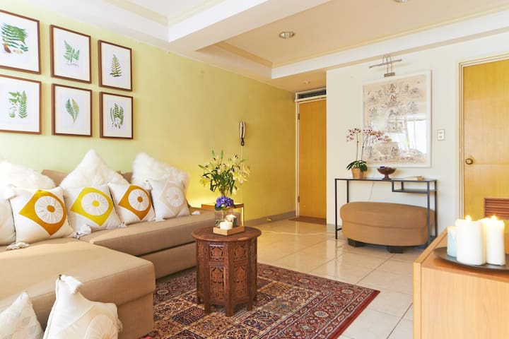 ❤NOV special❤Central Lush 2BR Apt# Guting/Da-an