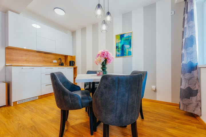 Luxury 1BR Apartment with Terrace in City Center