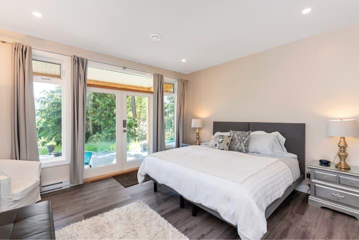 Maple Rise Guesthouse: Guest Suite 1, Maple Bay