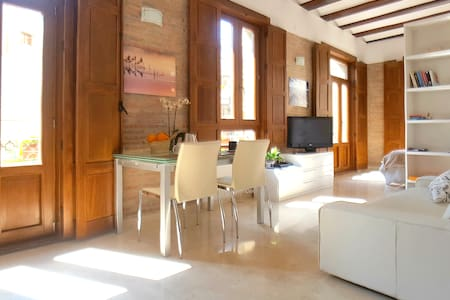 Charming loft in Plaza Redonda -1 - Valence - Appartement