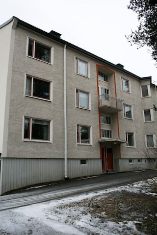 Forenom Top-floor studio apartment(near Tampere University Hospital and Applied Sciences) in Kissanmaa, Tampere - Hippoksenkatu 11