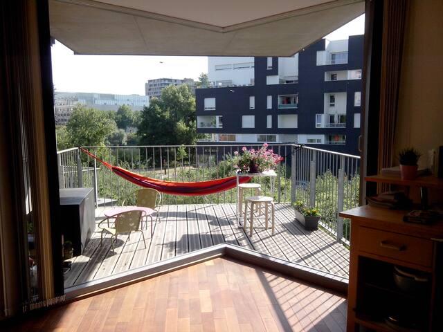 Apartment downtown with Loire view - Nantes - Leilighet