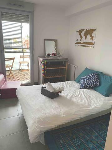 Chambre privée cozy à Toulouse proche centre ville