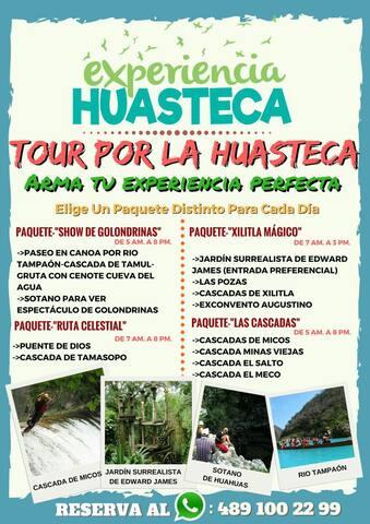 Tours Experiencia Huasteca, HUASTECA POTOSINA