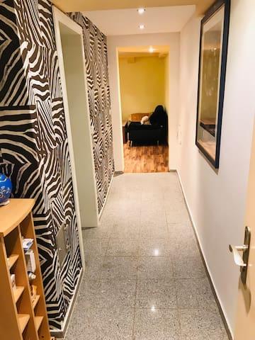 Idyllisch gelegene 1-ZKB Wohnung, ruhig, Nähe BASF