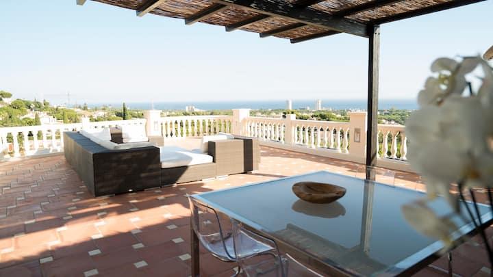 Most amazing design villa in Costa del Sol.