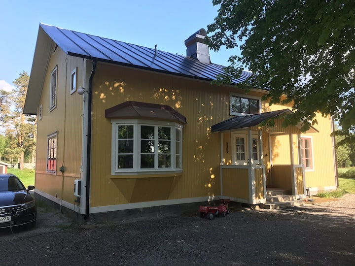 Bo på gården hos Gårdsjö Lantbruk