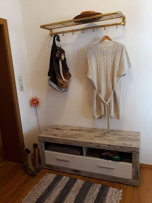 Entry with wardrobe