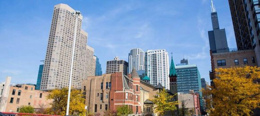 1BR apt in W Loop, best LOCATION - Chicago - Appartamento