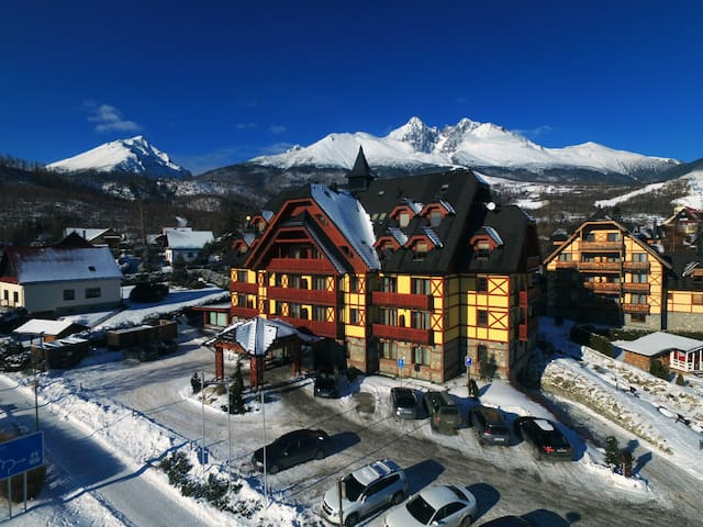 Two-Bedroom Apartment in Mountain Hotel ****