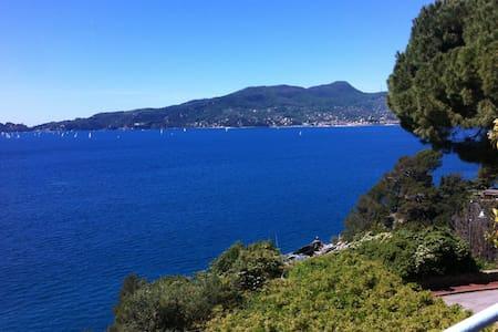 casa sul golfo di Portofino - Zoagli