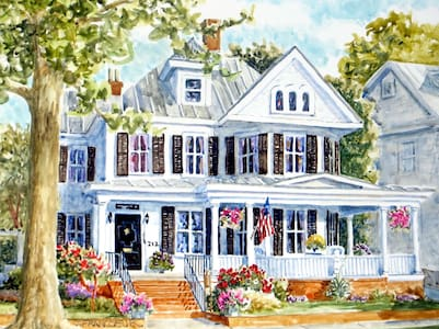 Enchanting Historic Home in Downtown New Bern - New Bern