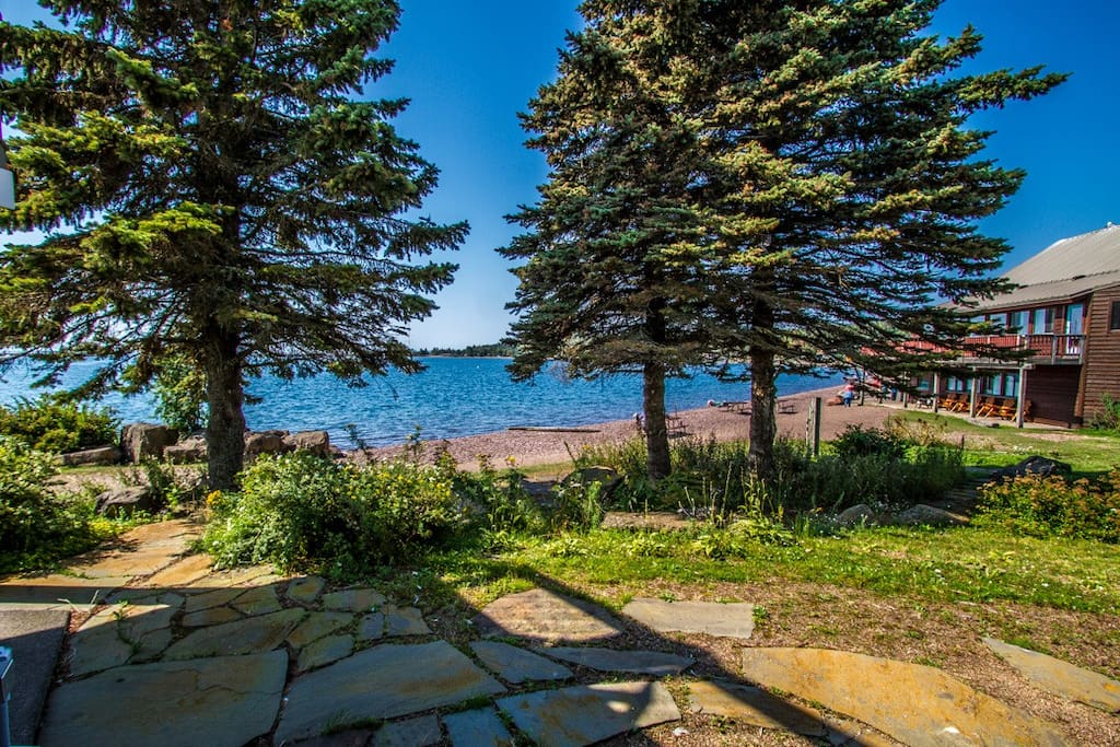 Enjoy these views from the patio of Cobblestone Cove Villa 4.
