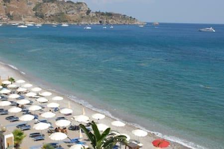 TAORMINA splendido appartamento sulla spiaggia - Villagonia - Wohnung