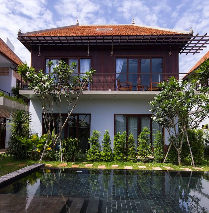 The beautiful private home