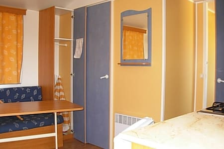 mobil home deux chambres - Lac de Néguenou