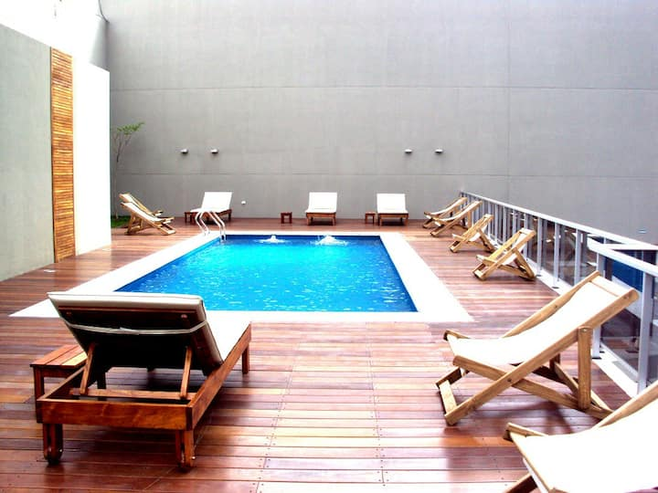 With pool view in Palermo Soho, the best location!