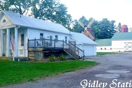 Stay In An Old Train Depot - Gidley Station!