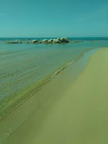 Bilocale vista mare a due passi dalla spiaggia - Siculiana - Apartamento