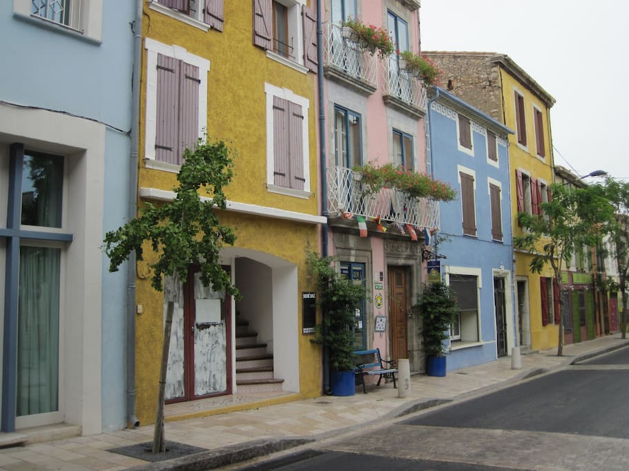La rue devant la maison