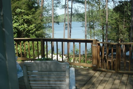 Peaceful cabin  on Lake Hartwell - Martin - Cabana