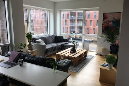 Master room in modern apartment