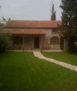 Κουκλίστικο Πέτρινο Καλύβι με κήπο - Αμφίκλεια Φθιώτιδος