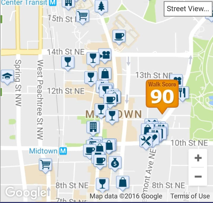 Walking Score 90%