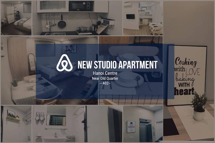 New Studio Apt, Hoan Kiem, near old quarter #0402#