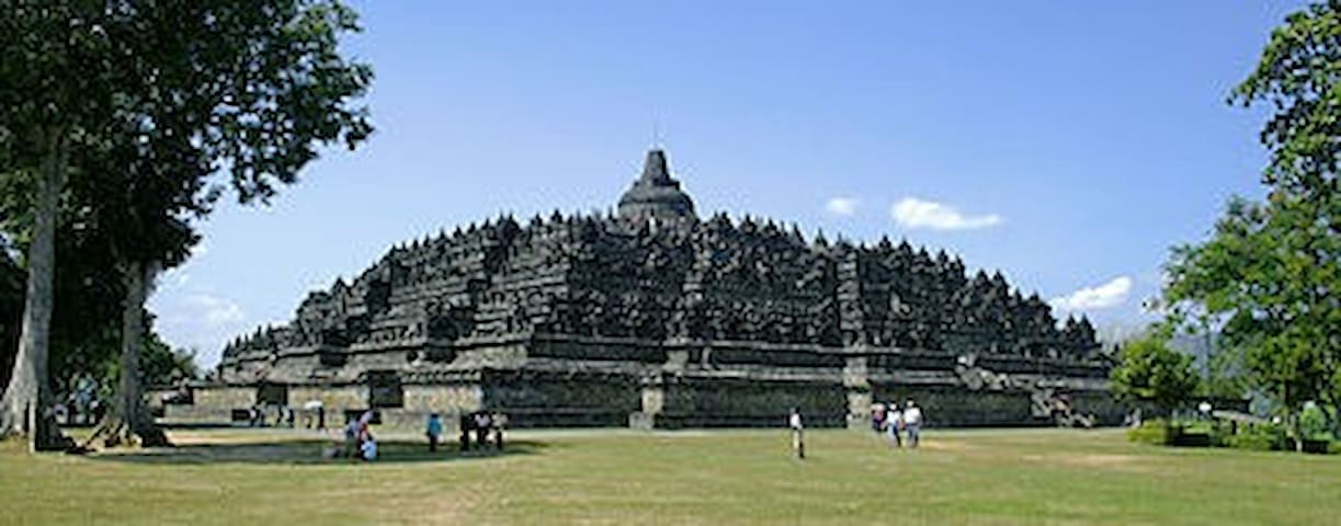 Borobudur 7 Wonders of the World - Magelang - Casa de campo