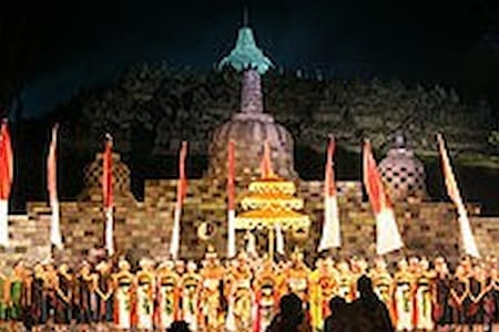 Borobudur 7 Wonders of the World - Villa