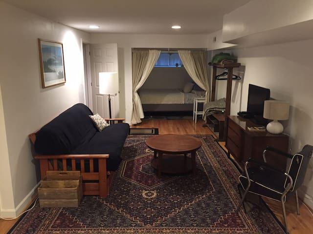 Cozy Sub-level in the Heart of Hampden - Baltimore - Daire