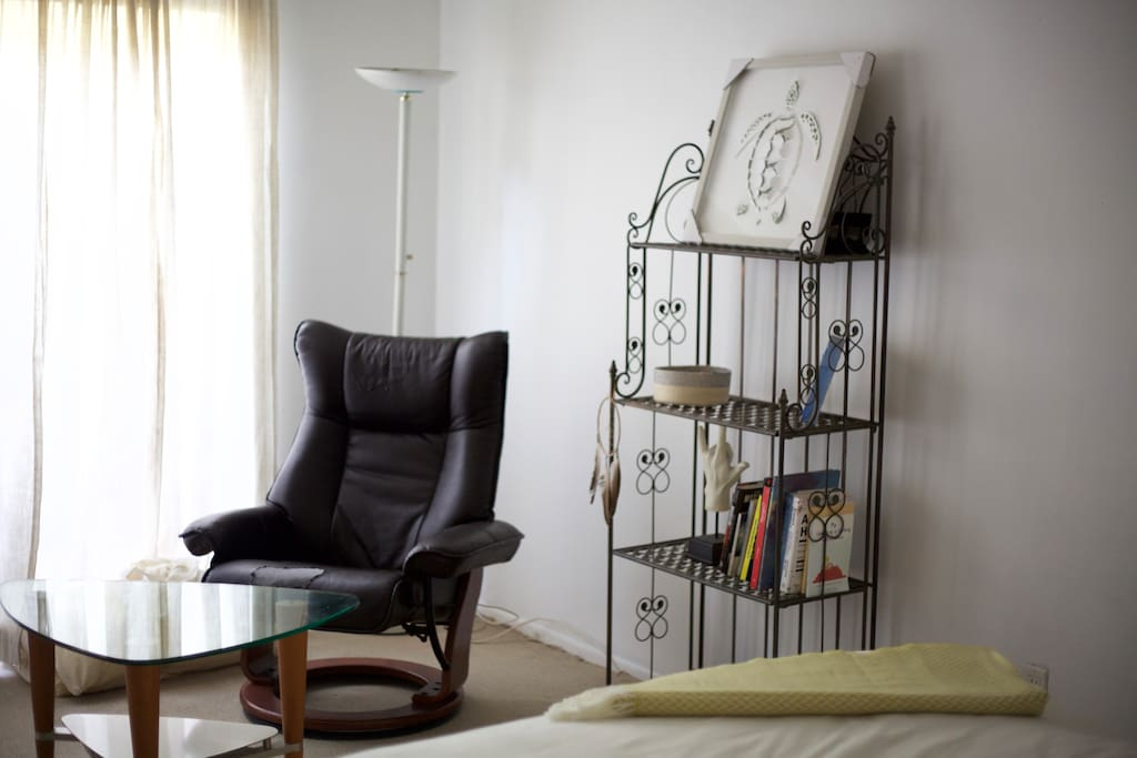 If you're not into tv you can recline in your own reading room