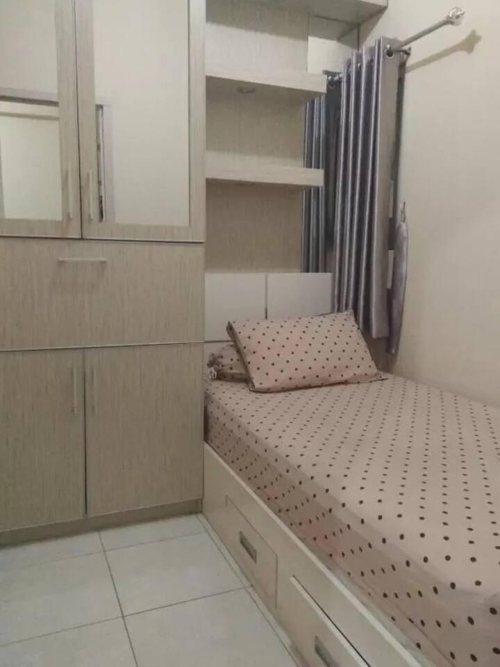 2 Bedroom at Julia Room Grand Center Point Bekasi