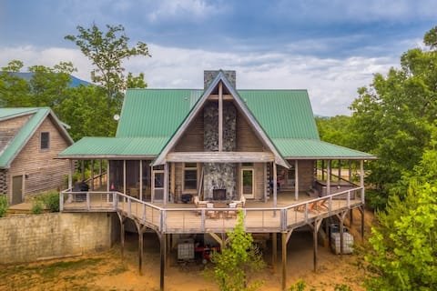 Serenity Combines Classic Cabin Appeal With Amenities You Require During Your Escape