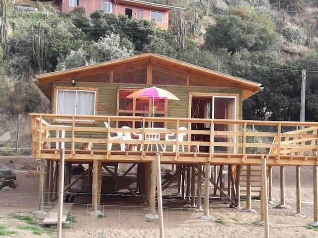 Cabaña para Escapada Romántica, Laguna Verde.