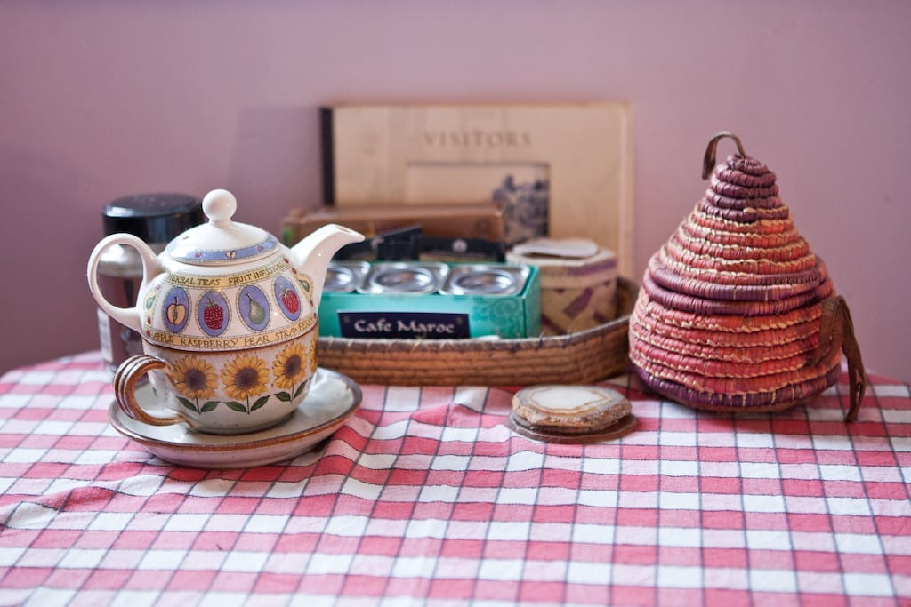 Choice of teas in your room for you to make your own tea & watch the wildlife in the garden.