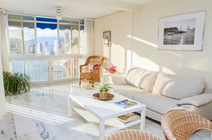 Luxurious, seafront and 3 bedrooms - Benidorm - Apartament