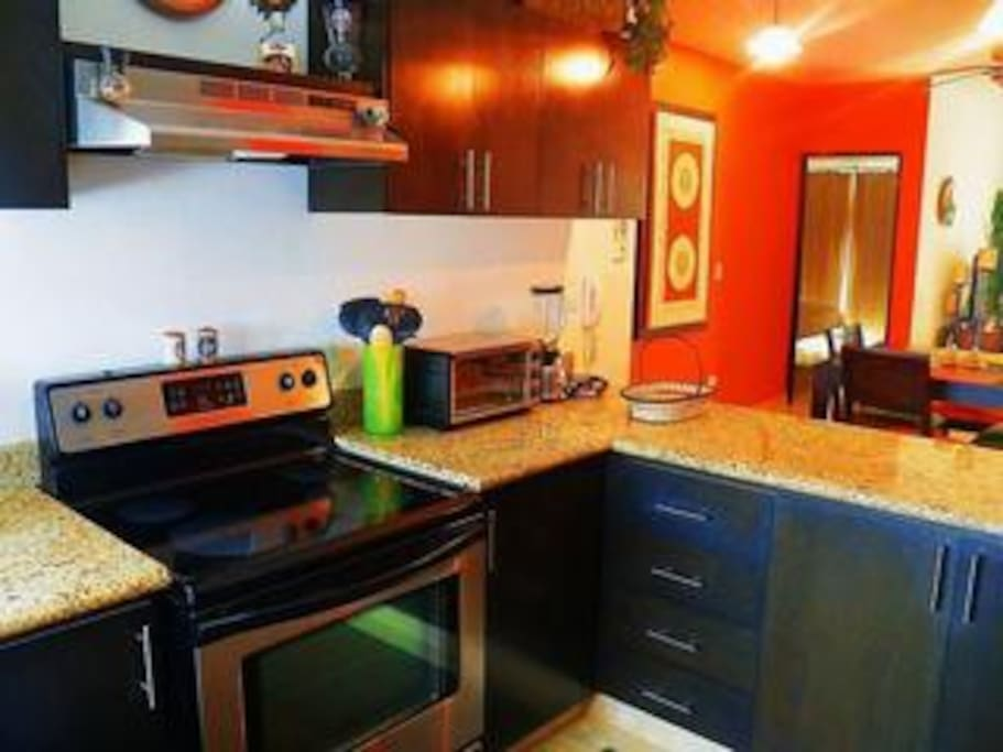 Great working kitchen with all the amenities