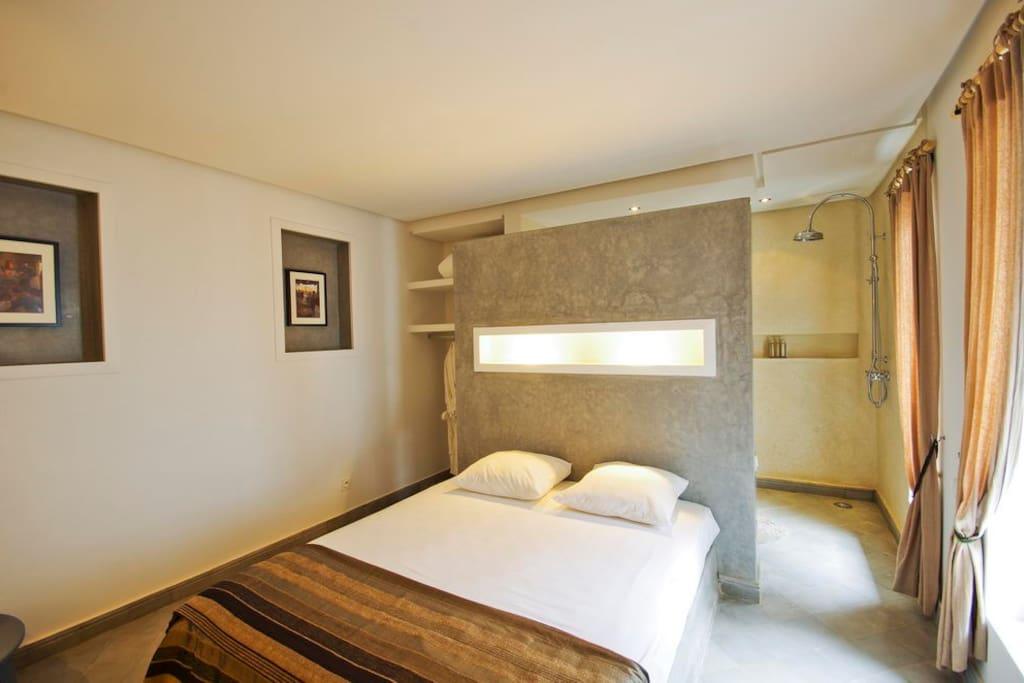 Chambre fes dans riad avec jacuzzi chambres d 39 h tes - Chambre d hote avec jacuzzi dans la chambre ...